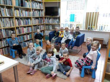 Grupa I – Z wizytą w  Bibliotece Miejskiej