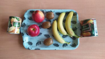 Sałatka owocowa – Grupa II