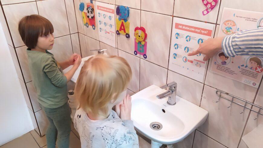 Światowy Dzień Mycia Rąk – Grupa I i II